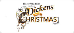 December 2, 9 & 16: Dickens of a Christmas in Roanoke, VA