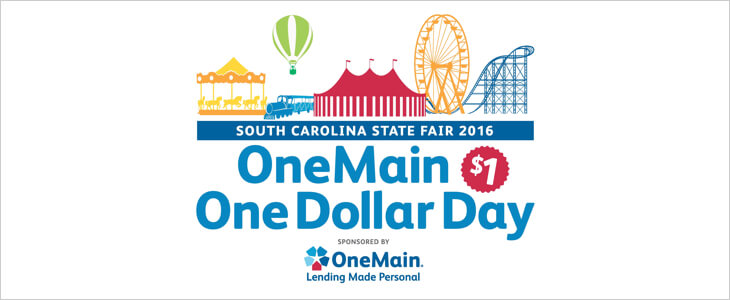 October 12: South Carolina State Fair in Columbia, SC